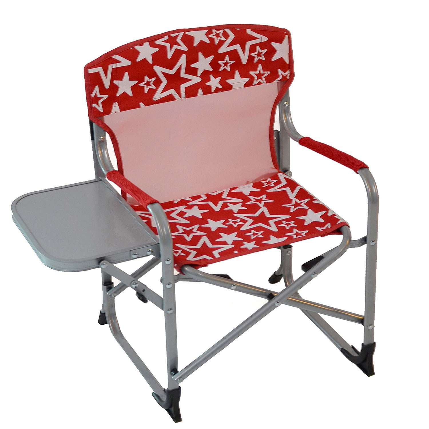 Kid's Portable Director's Chair (Red Stars)