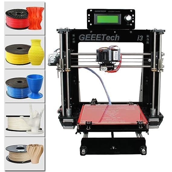 Impresora Acrílica 3D Geeetech® Prusa I3 Pro B Kit ...