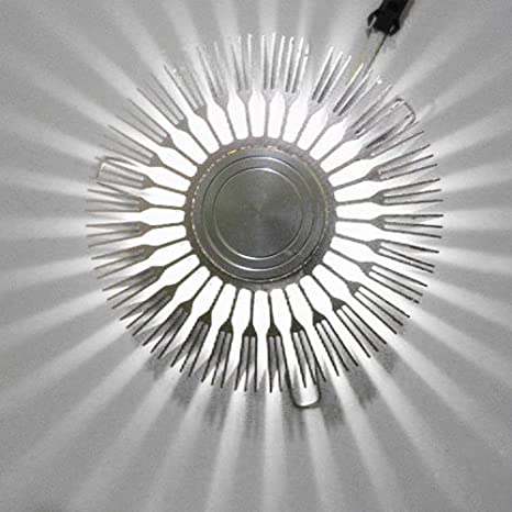 3W Modern LED Wall Ceiling Light Sconce Warm White Lighting Fixture Decor Lamp A