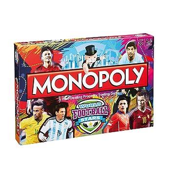 8b4c666396a1 Monopoly World Football Stars  Amazon.co.uk  Toys   Games