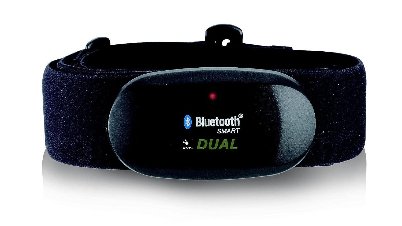 Cinturón para pecho con Bluetooth 4.0, ANT, para corredores, con aplicación para Android como Samsung S3/S4/S5/S6/S7/S8, Sony, LG, HTC, monitor de ...