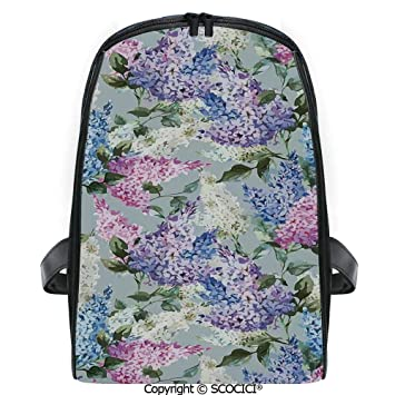 Summer Flowers Student Backpack Personalized