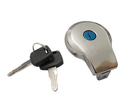 Amazon com: Fuel Gas Tank Cap Cover & Keys Fits YAMAHA MAXIM XJ XS