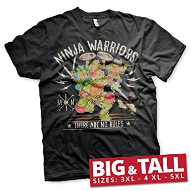 Oficialmente Licenciado Ninja Warriors - No Rules (3XL, 4XL ...