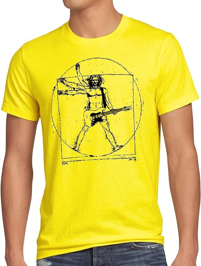 Camiseta Rockera Hombre Vitruvio Da Vinci