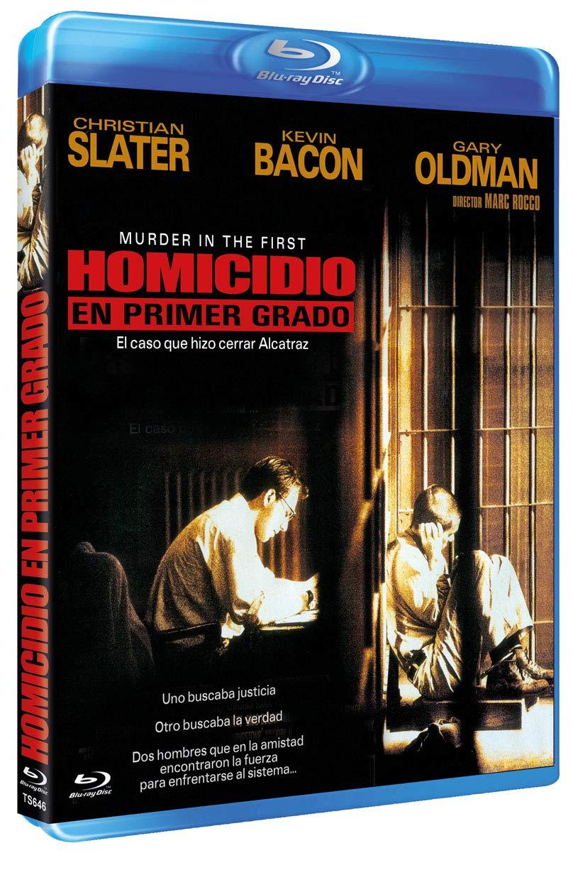 Homicidio en Primer Grado BD 1995 Murder in the First [Blu-ray]