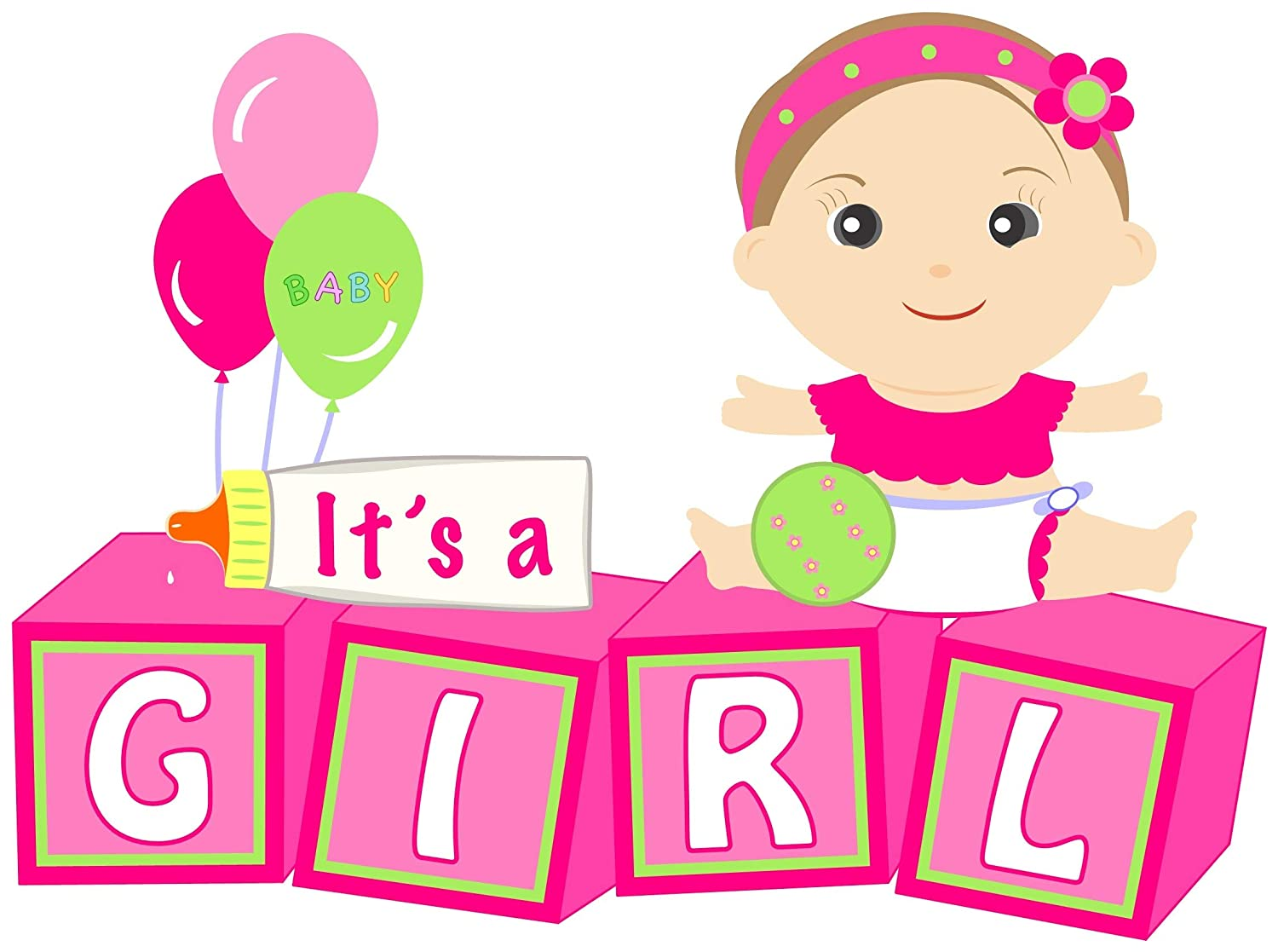 its a baby girl message