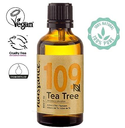 Naissance Aceite Esencial de Árbol de Té n. º 109 – 50ml - 100% Puro, vegano y no OGM