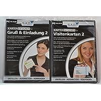 Sparset Karten-Designer, 2 Verschiedene CD