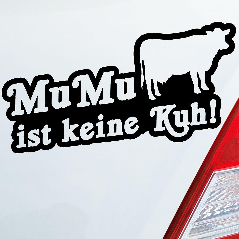 Amazon fr couleur de voiture autocollants dans votre choix mumu nest pas vache dub oem jdm 19 4 x 9 3 cm autocollant pour voiture stickers