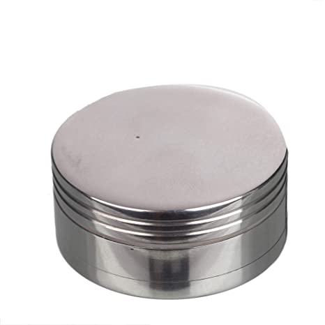 ba2ed1cc2d0 Buy Metier 50mm Metal Herb Grinder Crusher with Storage-3 Parts Online at  Low Prices in India - Amazon.in