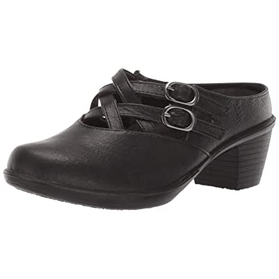 Easy Street Women's Marris Mule with Buckled Straps | Mules & Clogs