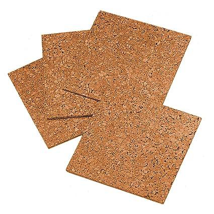 Amazoncom Quartet Cork Tiles Cork Board 12 X 12 Corkboard