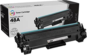 LD Compatible Toner Cartridge Replacement for HP 48A CF248A (Black)