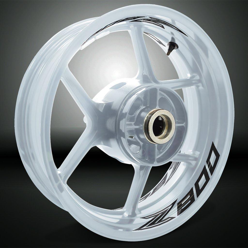2 Tons Am/éthyste Autocollant de Jante de Moto Inner Rim Tape pour Kawasaki Z800