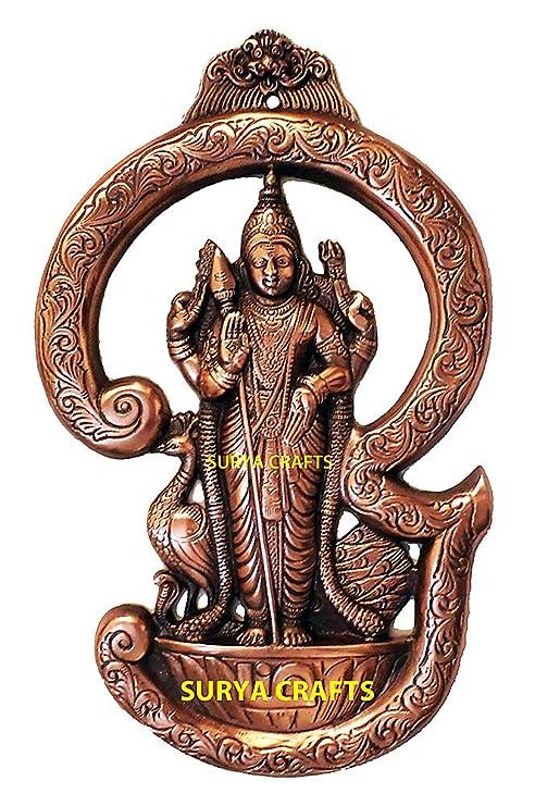 Buy Surya Crafts Tamil Om Murugan Swamy Wall Plate 14 X 8 5