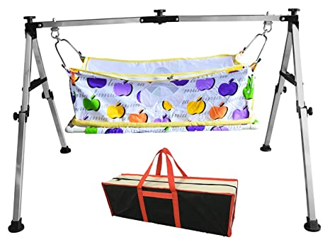 Buy Multipro Indian Style Baby Cradle and Swing Frame Ghodiyu ...