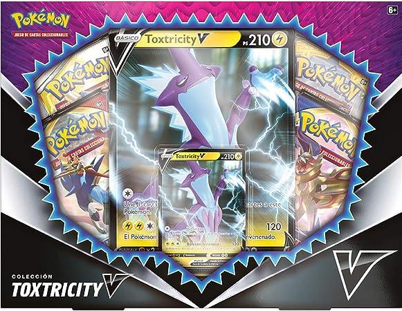 Pokemon - Caja TOXTRICITY V: Amazon.es: Juguetes y juegos