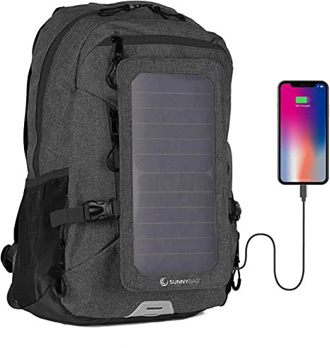 Sunnybag Explorer+ Solar Backpack   Worlds Strongest Solar Panel for Charging Smartphones and All USB-Devices on The go   15L Volume and 15 Laptop ...