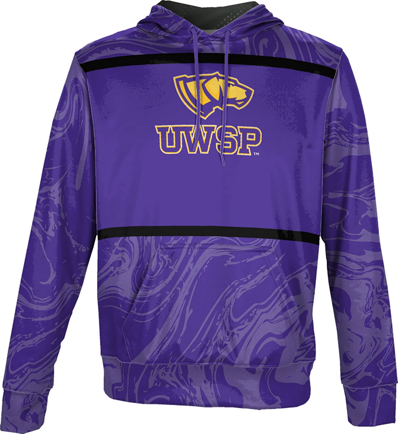 ProSphere University of Wisconsin-Stevens Point Boys Pullover Hoodie Ripple