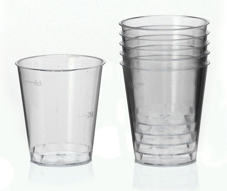 4cl Ol-Gastro-Bedarf 1000 Schnapsbecher Schnapsglas Plastikbecher Medizinbech Einweg 2cl