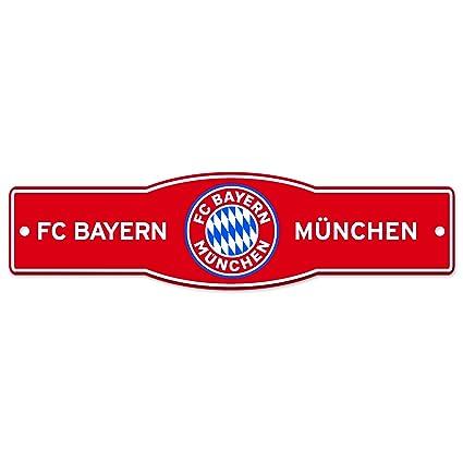 Amazon.com: WinCraft FC Bayern Munchen - Letrero de calle ...