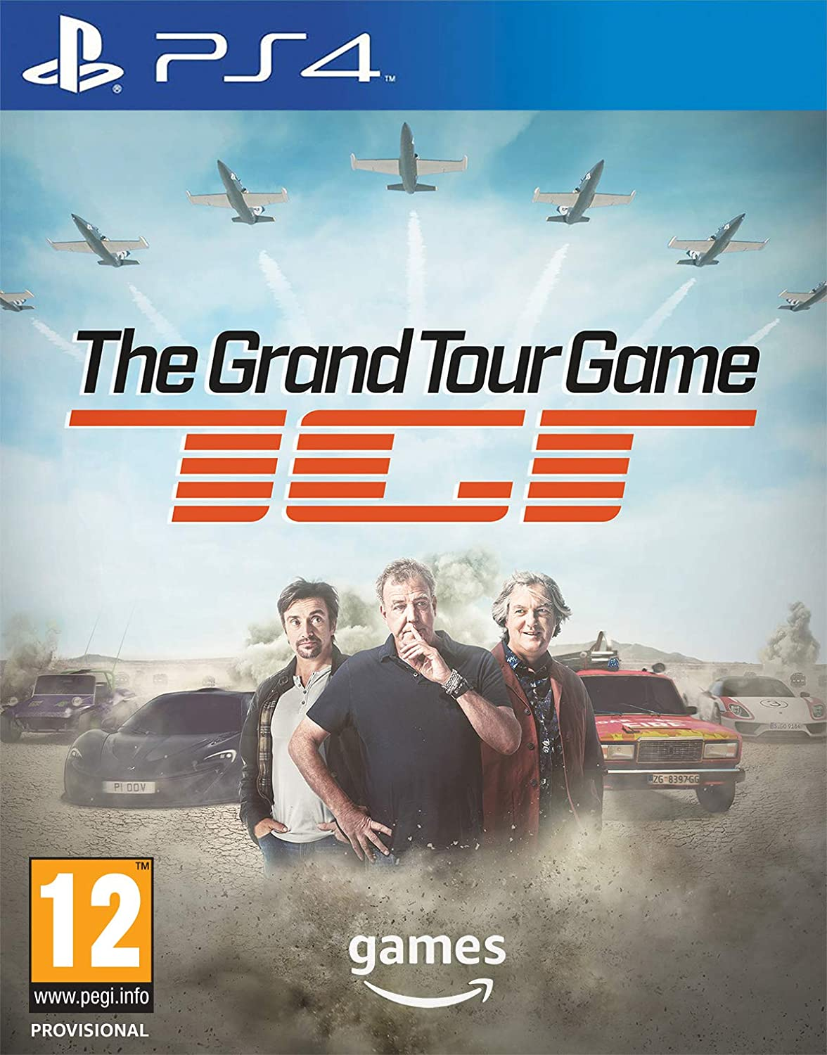 71a496b0d4c The Grand Tour Game - Standard Edition | PS4 Download Code - UK Account:  Amazon.co.uk: PC & Video Games
