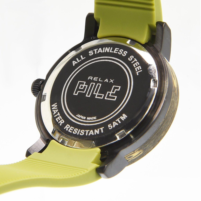 Relax Batterie Armbanduhr Analog grÜn Damen