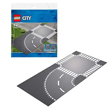 LEGO City - Virage et carrefour - 60237 - Jeu de construction