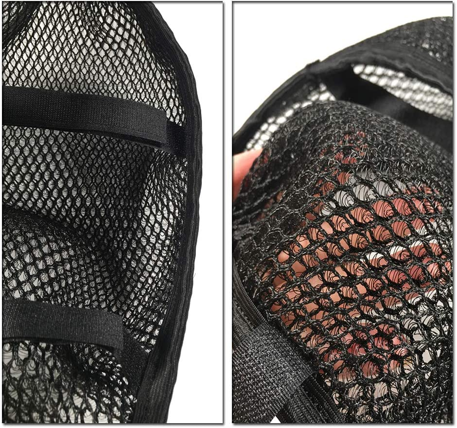 for Kawasaki Versys 650 Versys650 Rear Seat Cowl Cover 3D Mesh Net Waterproof Sunproof Protector Motorcycle Accessories