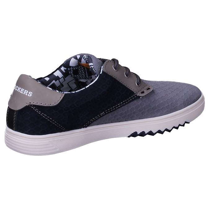 Dockers 40iz001204206 Zapatos de cordones de Piel para hombre color ...
