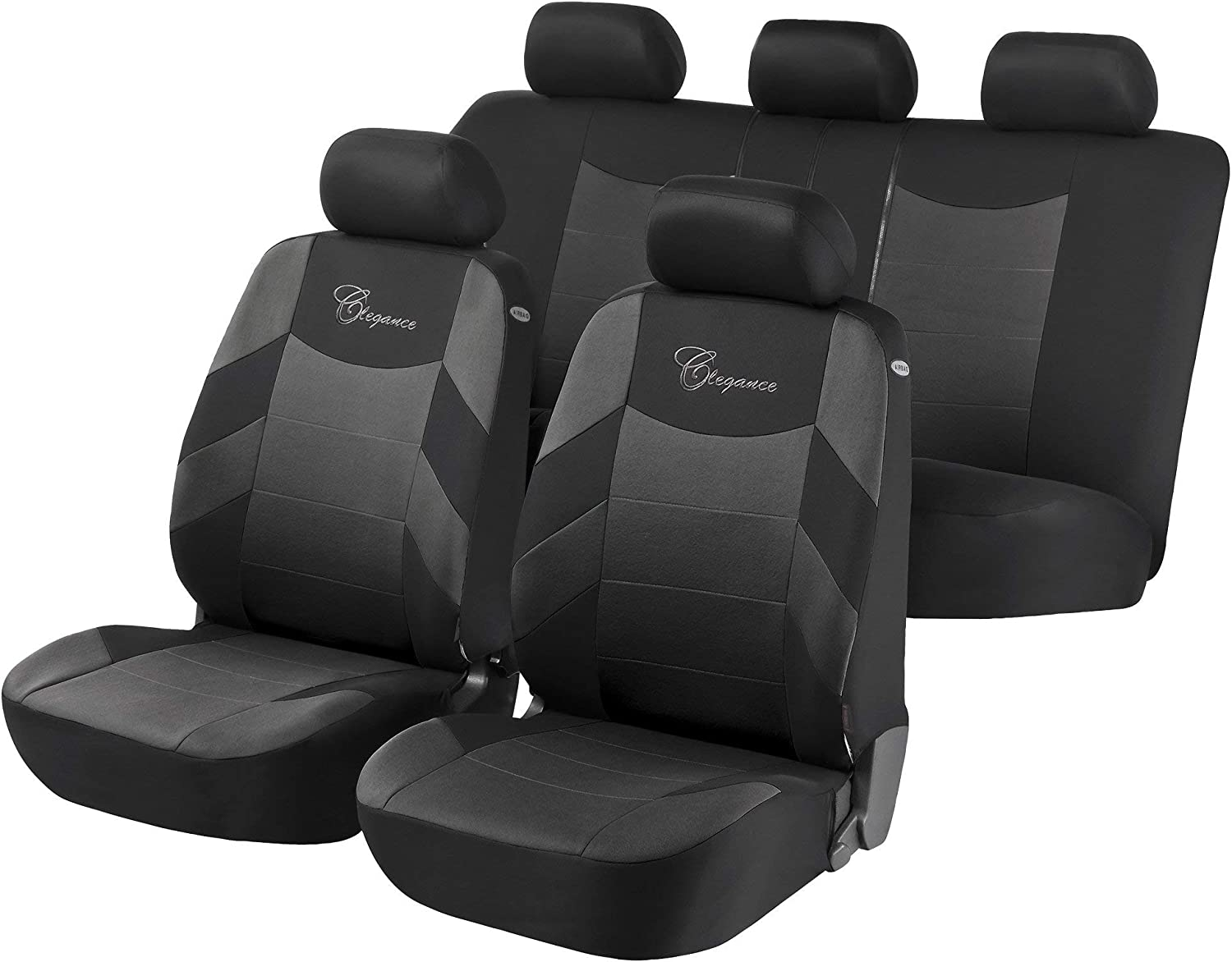 to fit Land Rover Range Rover Evoque 2011 Onwards Black Titan Waterproof Car Back Seat Cover