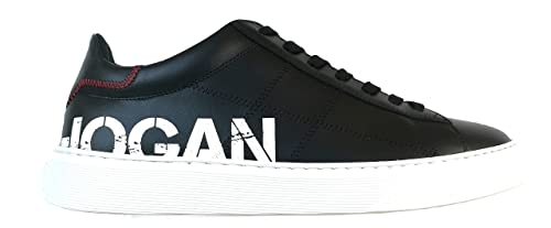 92d1985904511 Hogan Scarpe Uomo Sneaker H365 Stampa GYM3650AJ00KLAB999 N-42 ...