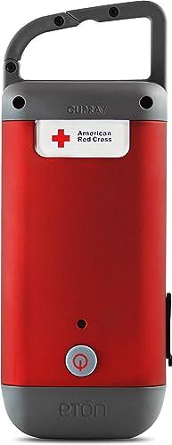 Eton American Red Cross Clipray Crank-Powered Flashlight