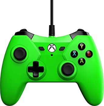 PowerA Wired Controller For Xbox One - Green: Amazon co uk: PC