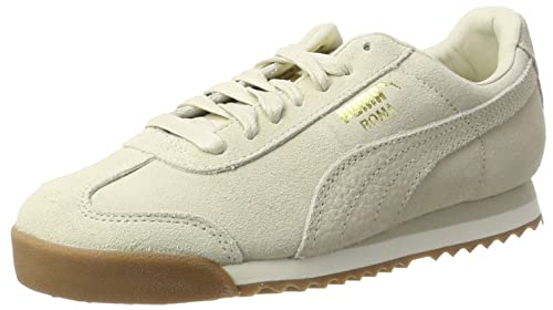 Puma Roma Natural Warmth, Zapatillas Unisex Adulto, Verde (Olive Night-Whisper White), 37 EU