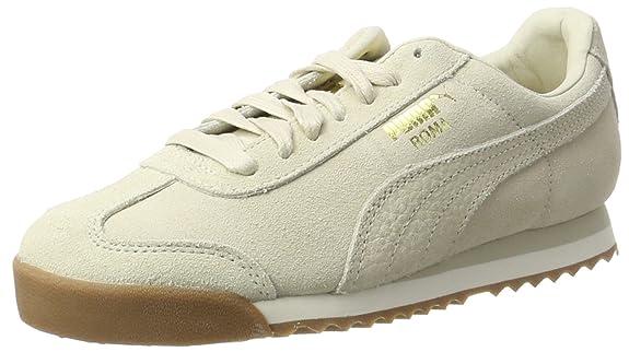 Puma Roma Classic Met Safari, Sneakers Basses Femme, Beige (Safari-Safari), 41 EU