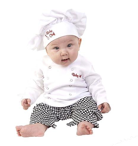 EL CARNAVAL Disfraz Cocinero niño/niña Talla de 2 a 4 años: Amazon ...
