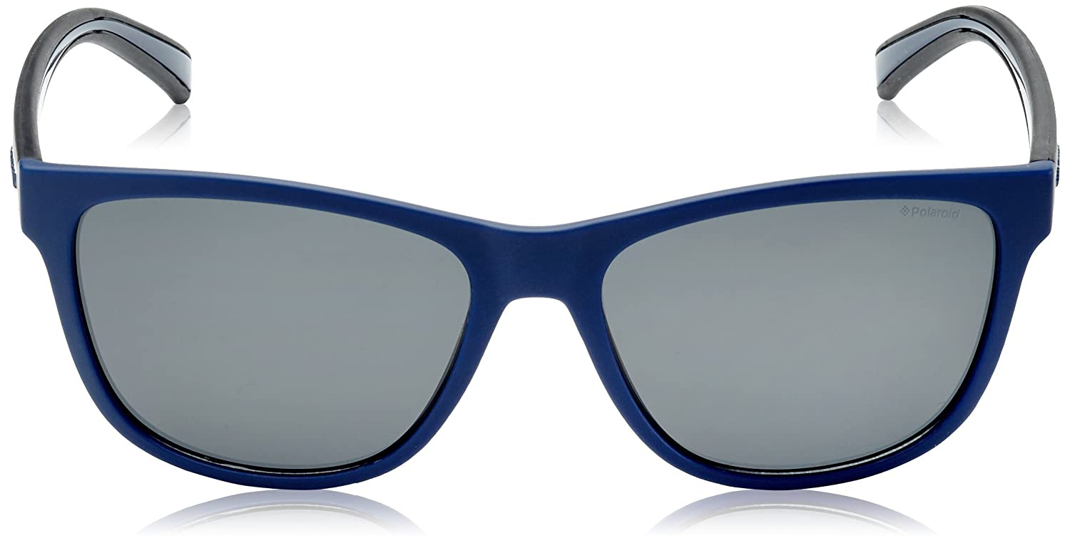 Polaroid PLD2009/S QJW Blue / Black Rubber PLD2009/S Wayfarer Sunglasses Polari at Amazon Womens Clothing store: