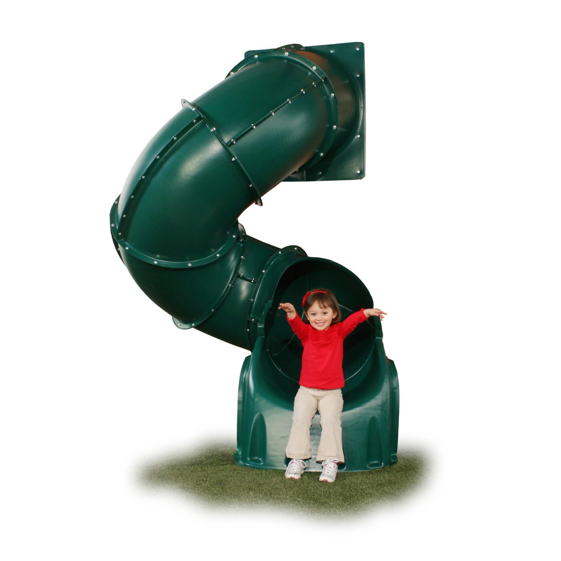 5 Ft Turbo Tube Slide Green by Swing-N-Slide