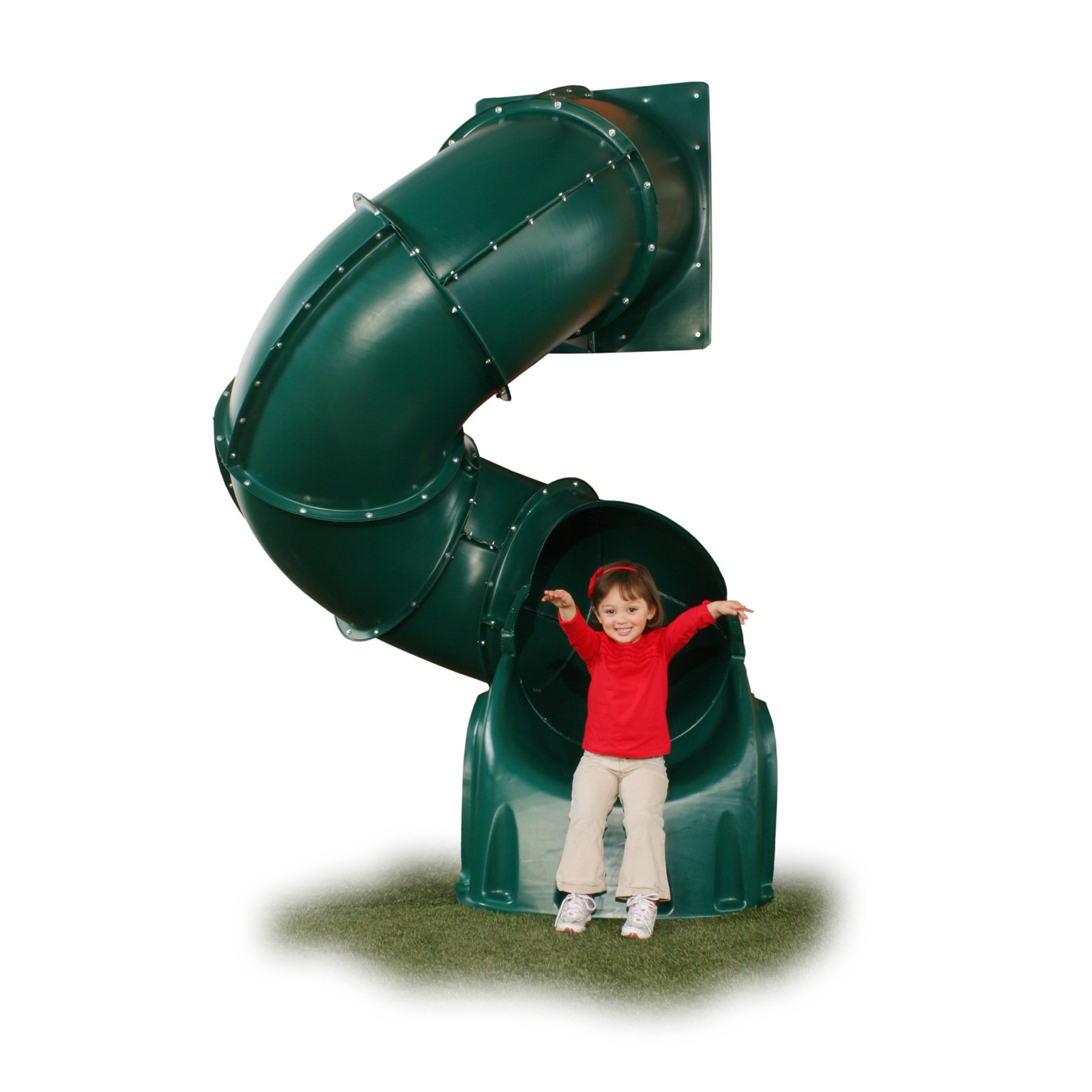 5 Ft Turbo Tube Slide Green by Swing-N-Slide (Image #1)