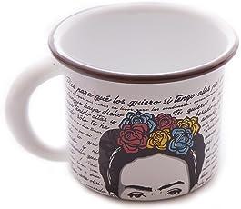 Taza de Peltre Frida