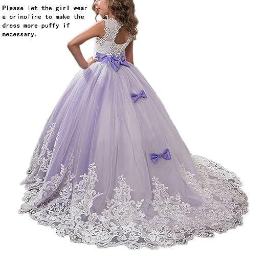 Girls Kids Prom Long Dresses