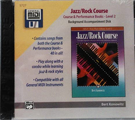 Alfred's Basic Piano Library General Midi - Jazz Rock Course