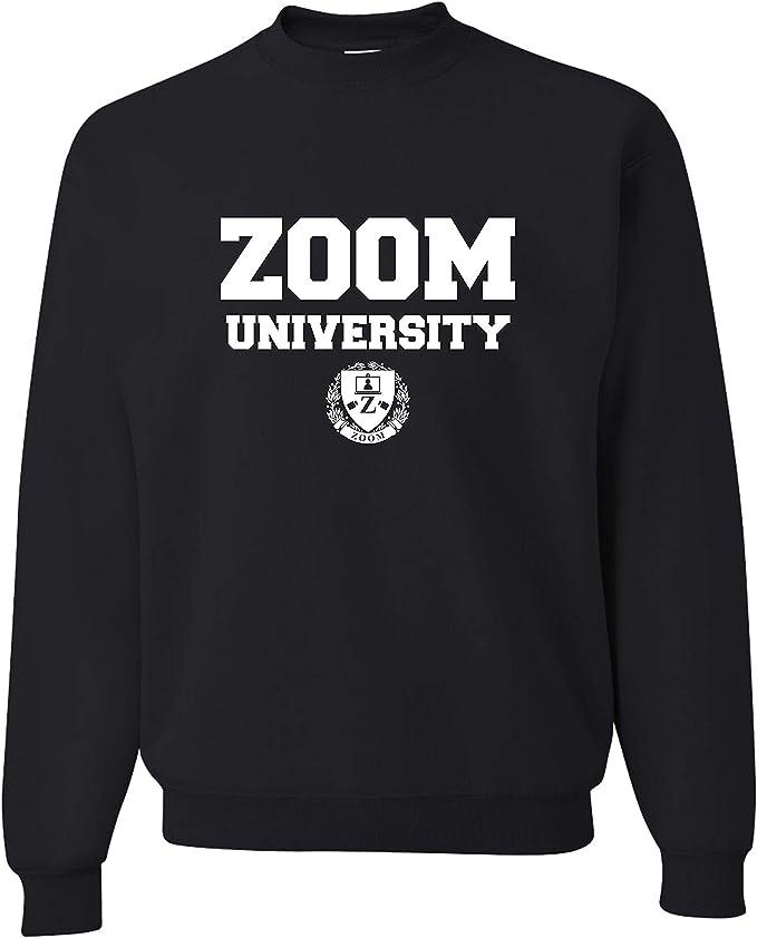 TeesAndTankYou Zoom University Sweatshirt Unisex