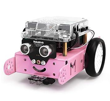 Makeblock mBot Robot Kit for Kids Ages 8+, DIY Mechanical Building Block,  STEM Education, Entry-Level Programming Improves Kids' Logical Thinking and