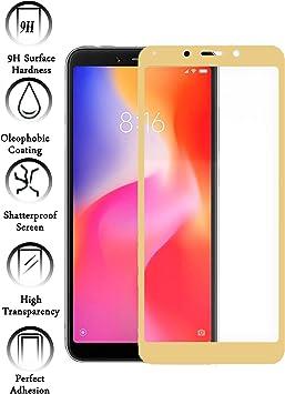Todotumovil Protector de Pantalla Xiaomi Redmi 6A Color Dorado ...