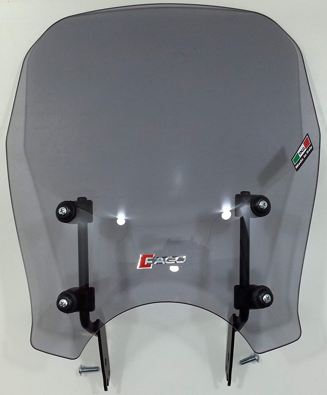 - COD CUPOLINO FUME CHIARO 4mm FANTIC CABALLERO SCRAMBLER 125-250-500 18-19 29076