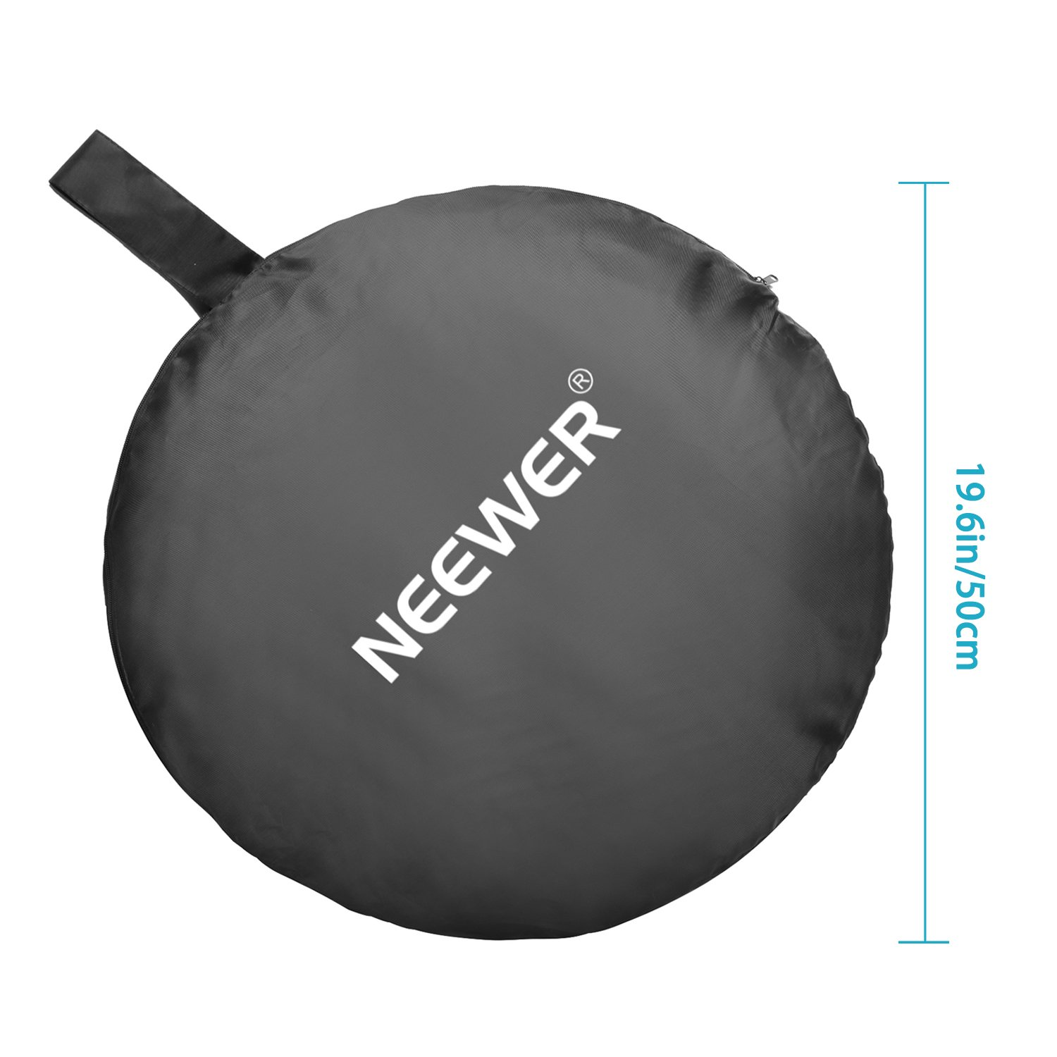 Neewer Photography Studio Lighting Reflector Pop-out Foldable Soft Diffuser Disc Panel with Carrying Case for Studio and Outdoor Portrait, Product Photography,Video Shooting (39.4 x 59 inches) by Neewer (Image #4)