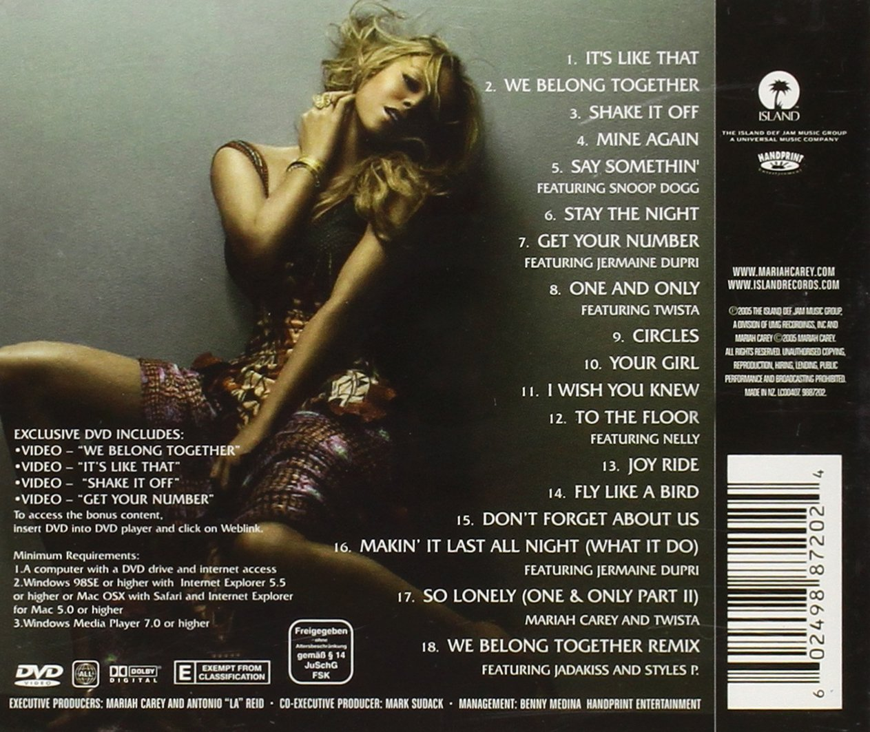 Mariah Carey Emancipation Of Mimi Ultra Platinum Edition ...
